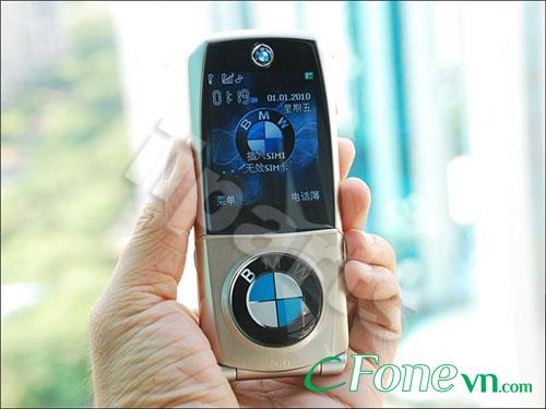 Điện thoại nắp bật BMW 760 2 sim vỏ kim loại